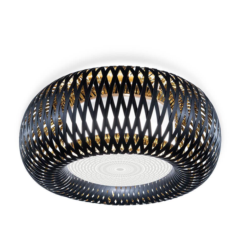 Image of Kalatos Loftlampe/Væglampe Black/Gold - Slamp (14503870)