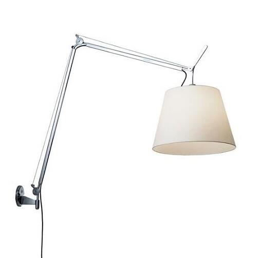 Billede af Tolomeo Mega Væglampe Alu/Hvid - Artemide