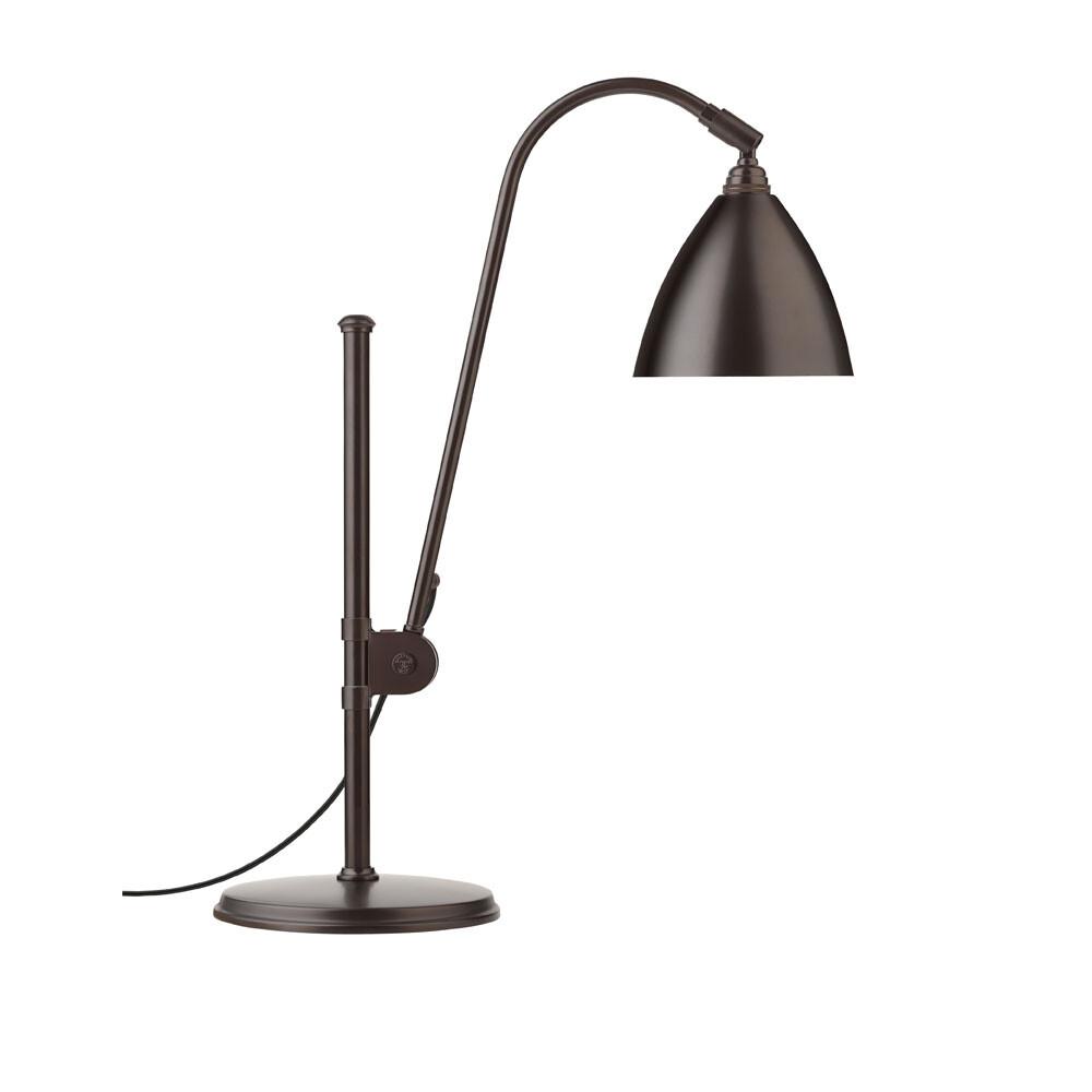 Image of BL1 Bordlampe Ø16 Sort Messing/Sort Messing - GUBI (10199211)