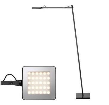 Kelvin LED F Gulvlampe Sort – Flos