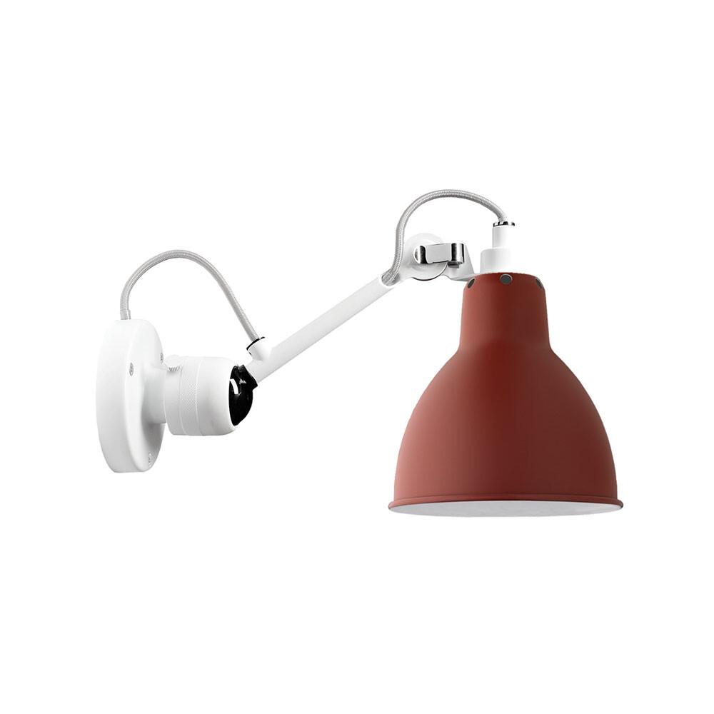 304 Væglampe Hvid/Rød - Lampe Gras thumbnail