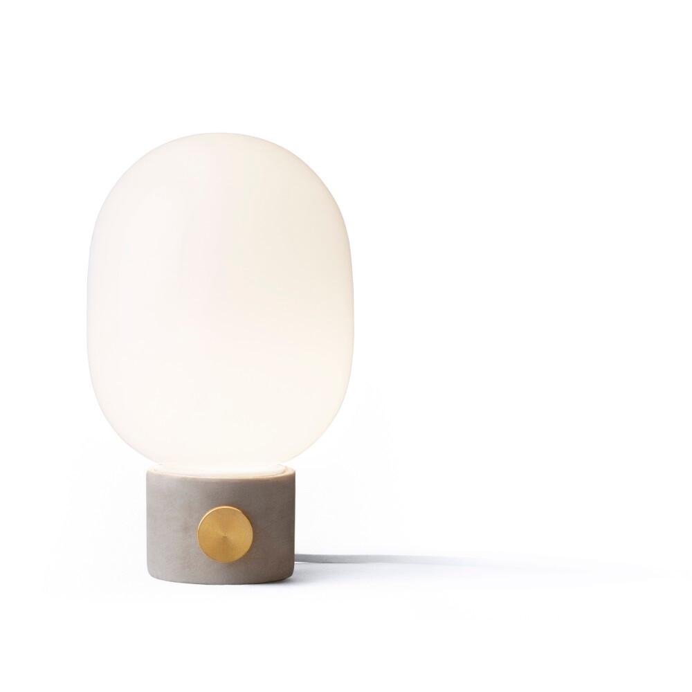 JWDA Concrete Bordlampe Lysegrå/Messing - Menu