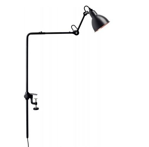 Image of 226 Bordlampe/Reol Lampe Sort/Sort/Kobber - Lampe Gras (6188920)