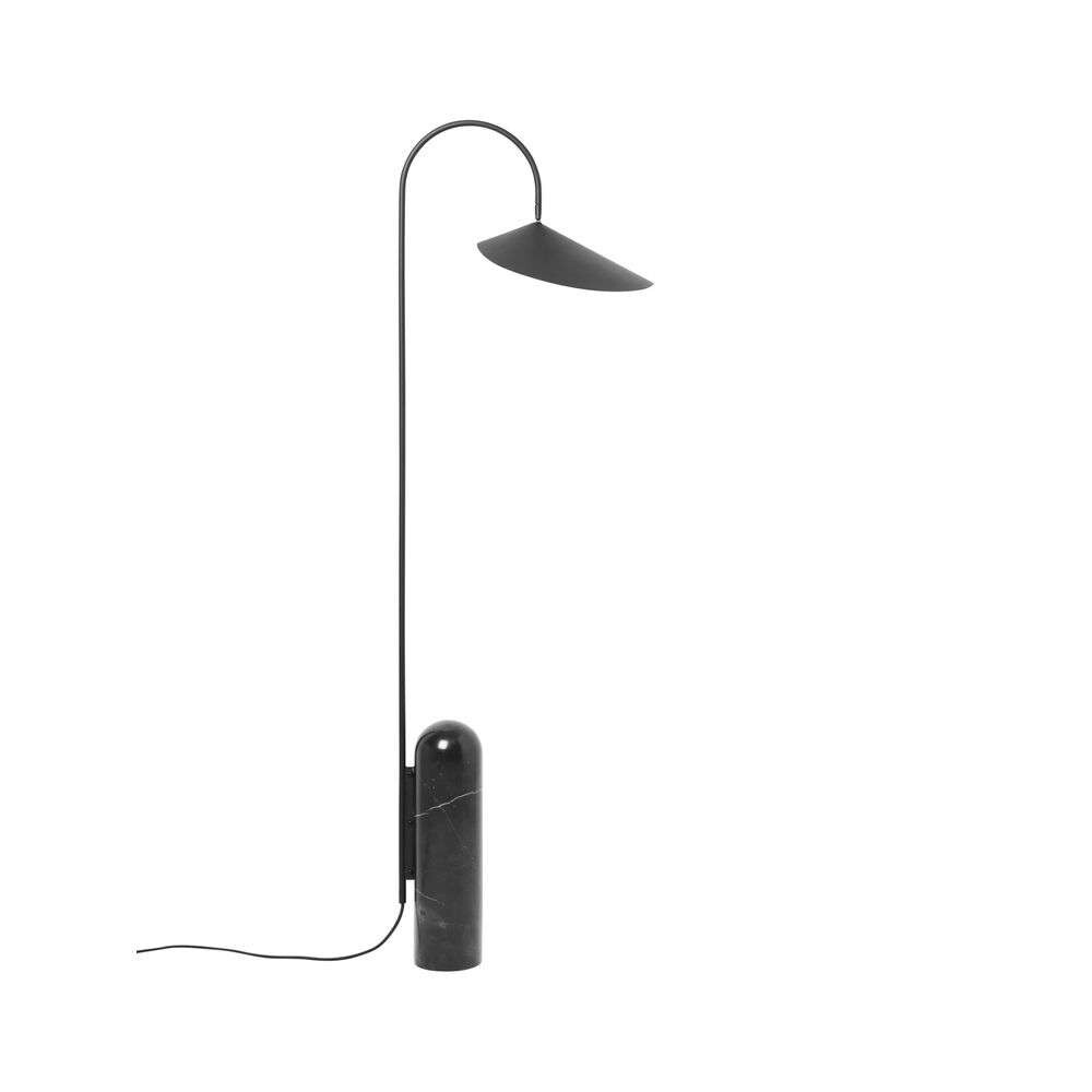Image of Arum Gulvlampe Black - Ferm Living (15990606)