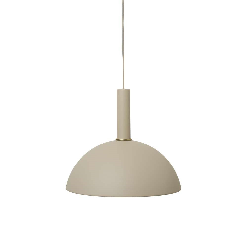 Image of Collect Pendel Dome High Cashmere - Ferm Living (15998605)
