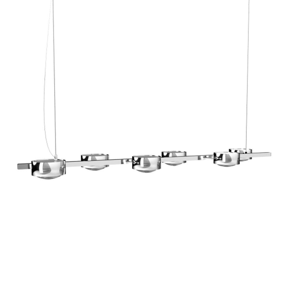 Puk Maxx Sixtet LED Pendel Krom – Top Light
