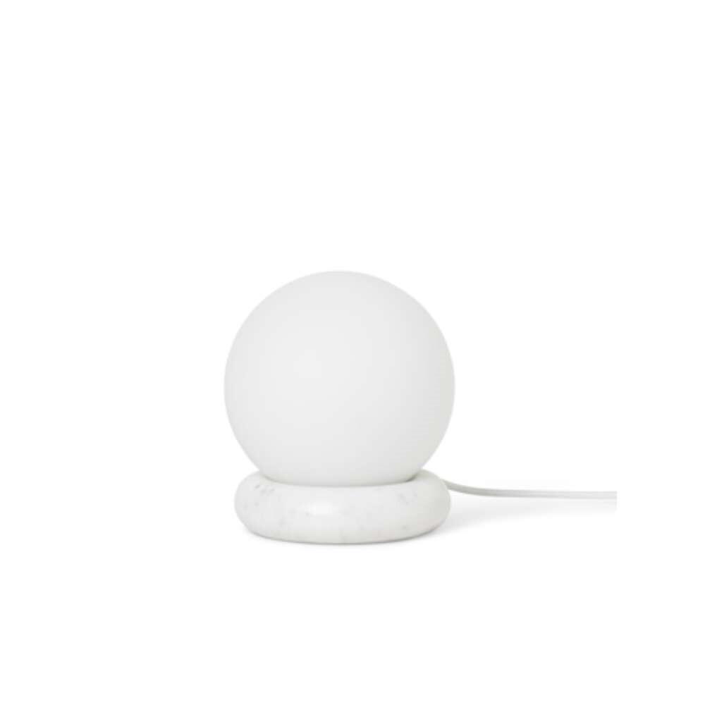 Image of Rest Bordlampe White Marble - Ferm Living (15990595)