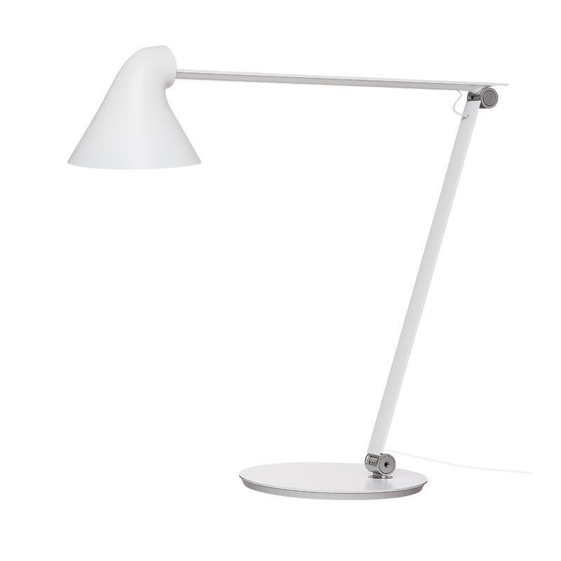 NJP Bordlampe m/Fod 2700 Hvid – Louis Poulsen