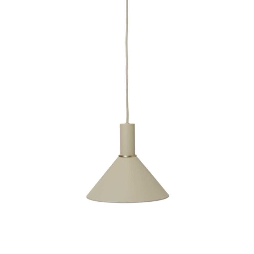 Image of Collect Pendel Cone Low Cashmere - Ferm Living (15998575)