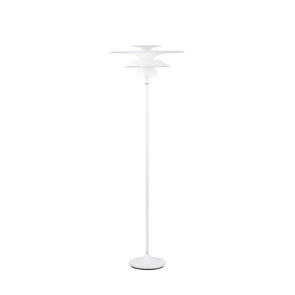 Picasso Gulvlampe Ø500 Mat Hvid LED – Belid