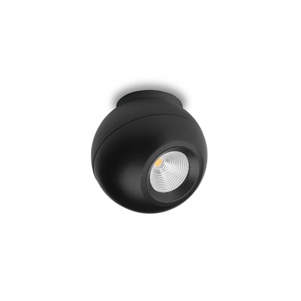 OCULUS S100 LED Påbygningsspot Sort – ANTIDARK