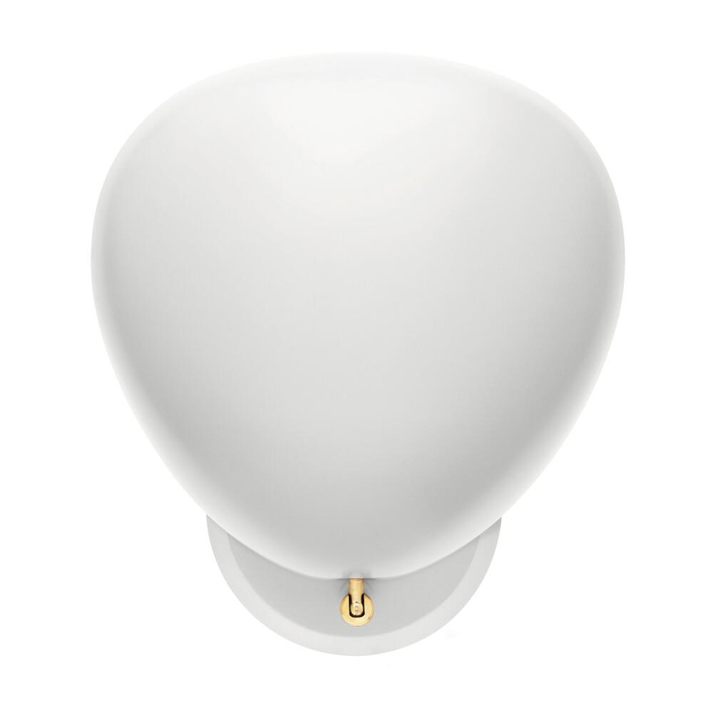 Billede af Cobra Væglampe Hard-Wired Mat Hvid - GUBI