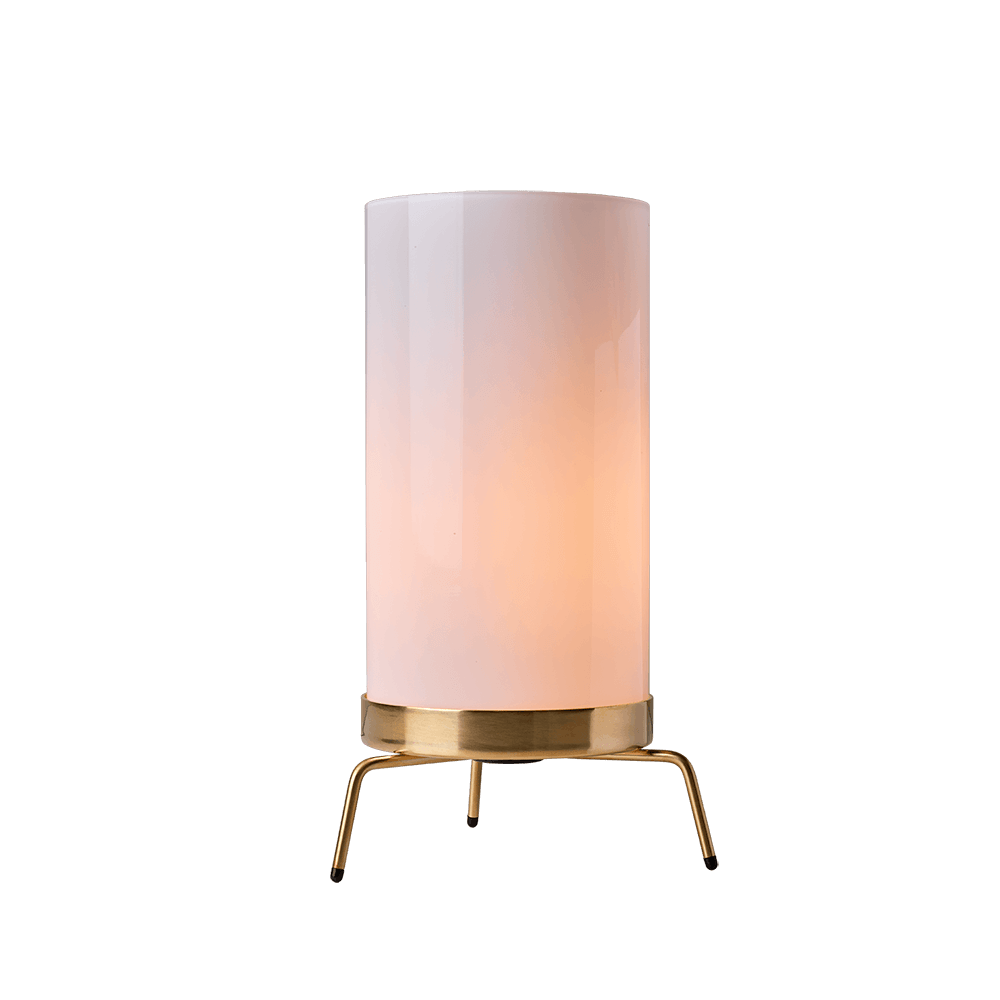 PM-02 Bordlampe Opal/Messing - Fritz Hansen thumbnail