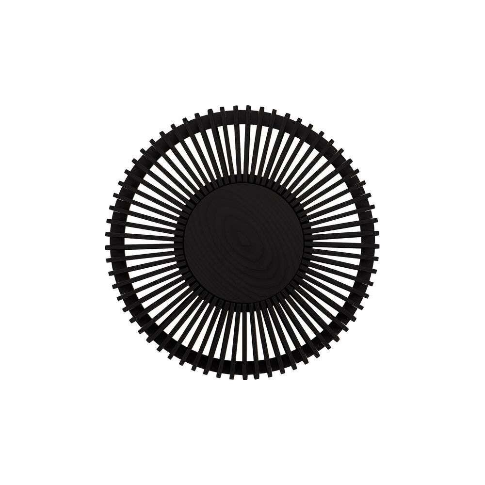 Image of Clava Up Wood Væg-/Loftlampe Medium Black Oak - Umage (16434253)