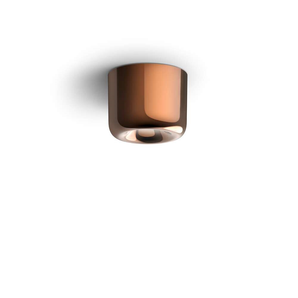 Cavity LED Loftlampe L Bronze – Serien Lighting