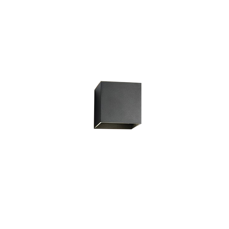 Box Mini Up/Down LED 3000K Væglampe Sort – LIGHT-POINT