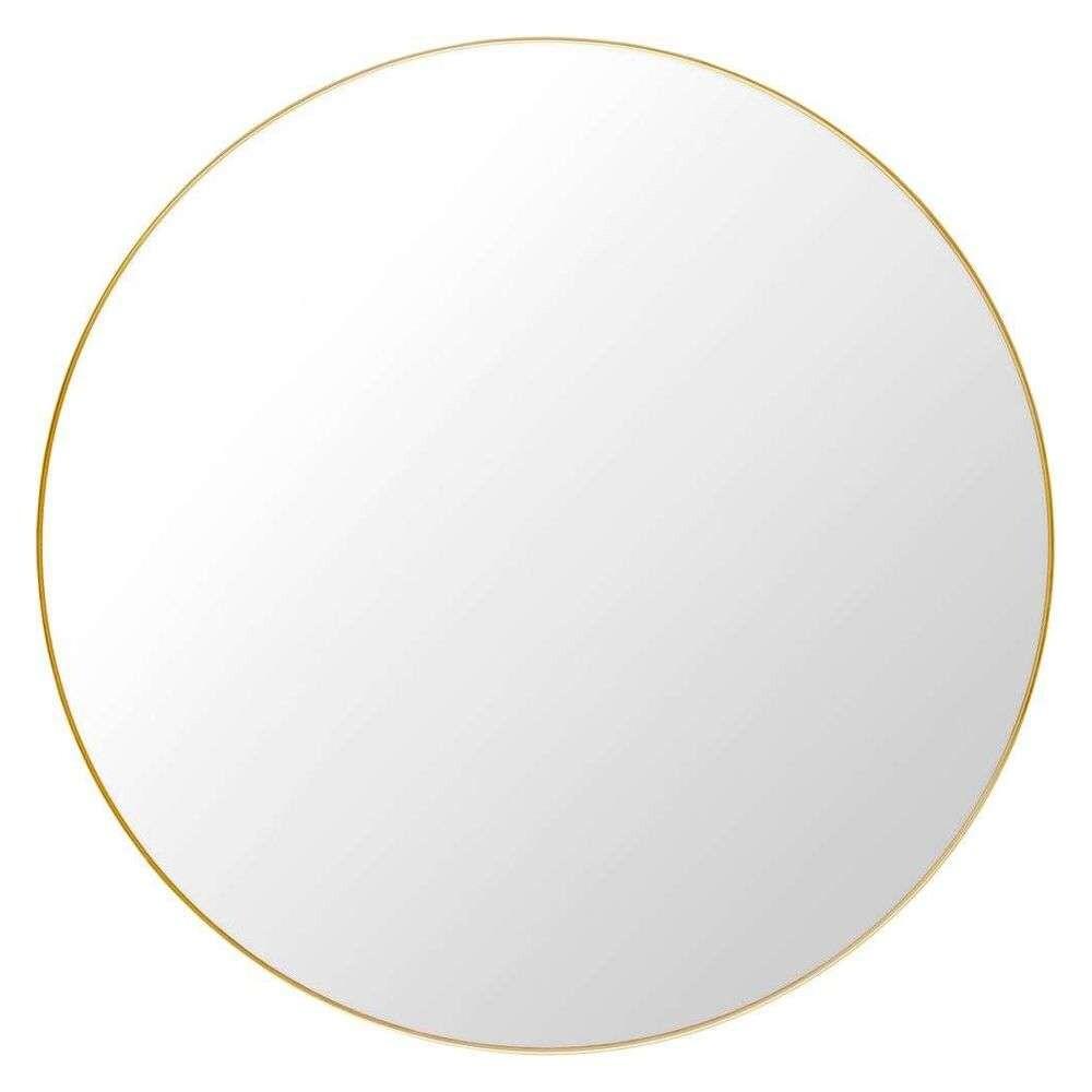 Image of Gubi Wall Mirror Round Ø110 Polished Brass - GUBI (15840001)