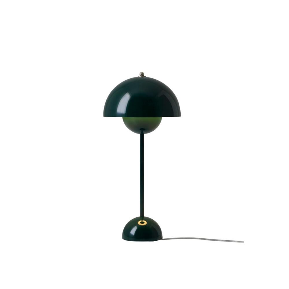 Flowerpot VP3 Bordlampe Dark Green - &tradition