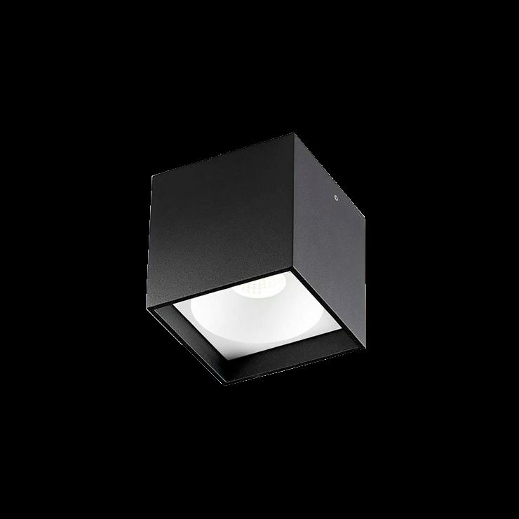 Solo Square LED 3000K Loftlampe Sort – LIGHT-POINT