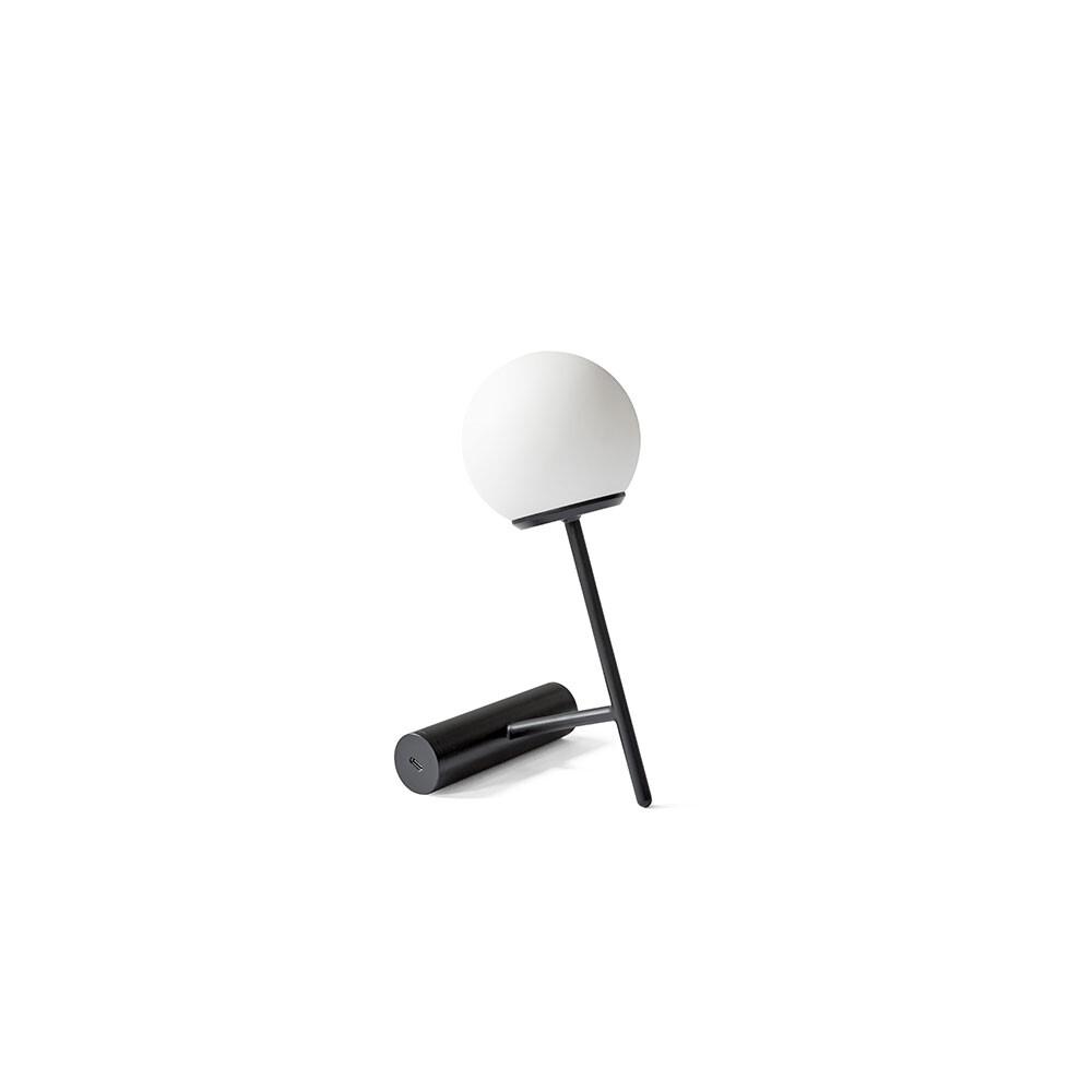 Phare LED Bordlampe Sort – Menu