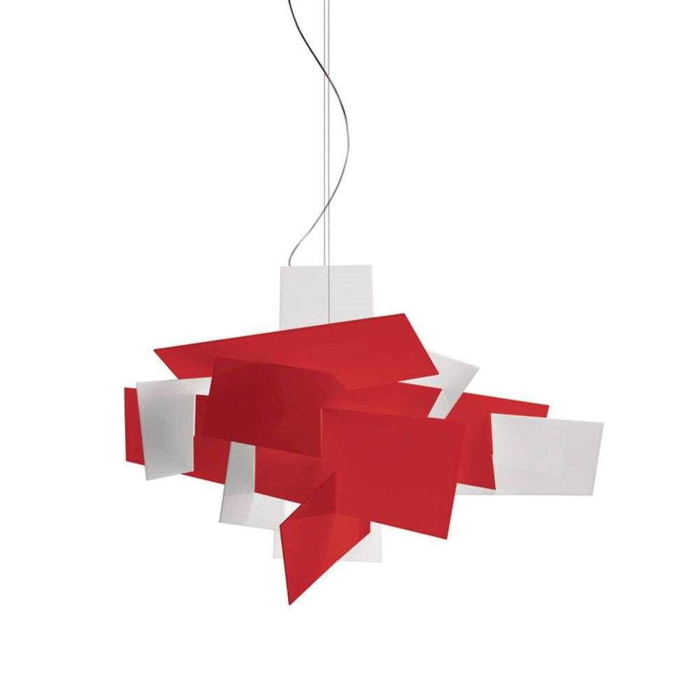 Billede af Big Bang LED Large Pendel Dæmpbar Rød - Foscarini