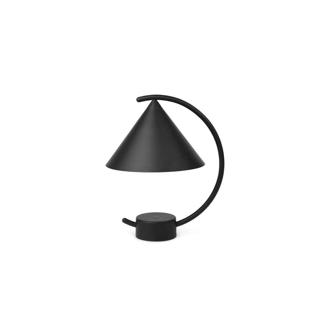 Image of Meridian ToGo Bordlampe Black - Ferm Living (16424847)