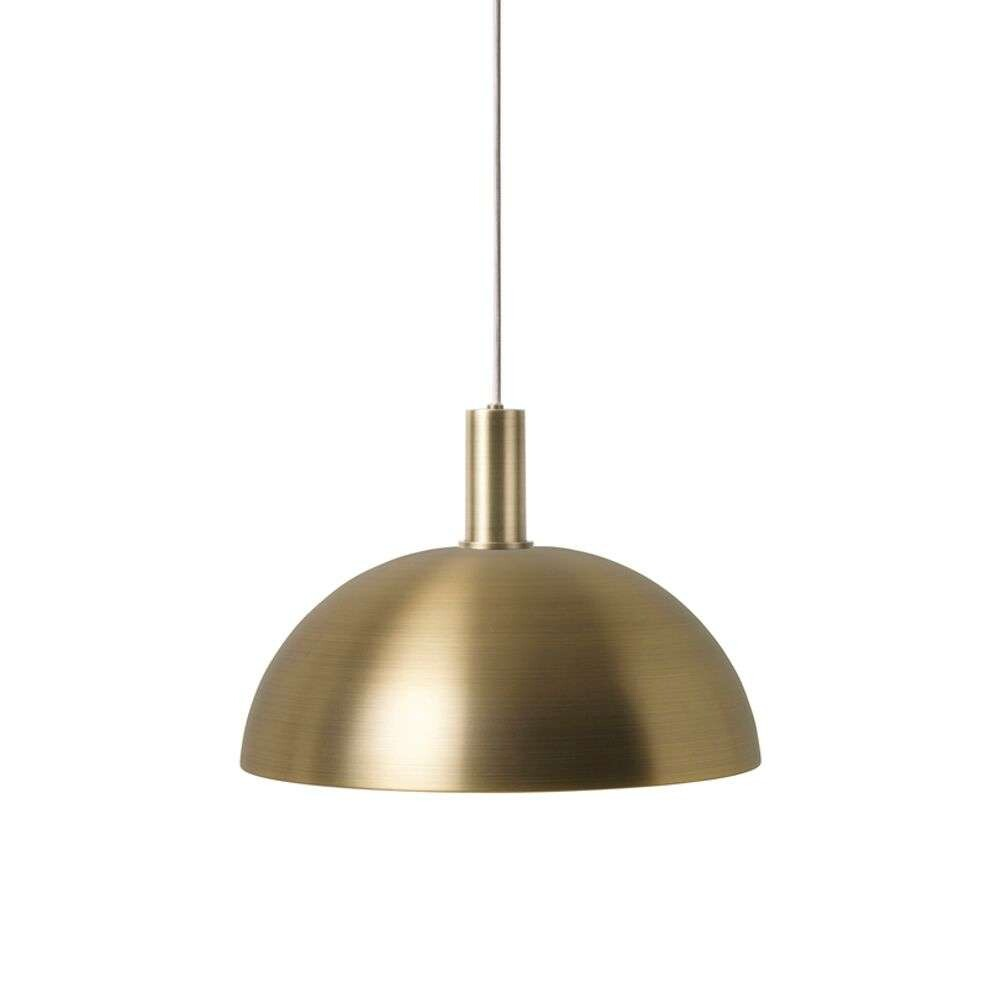 Image of Collect Pendel Dome Low Brass - Ferm Living (15998580)