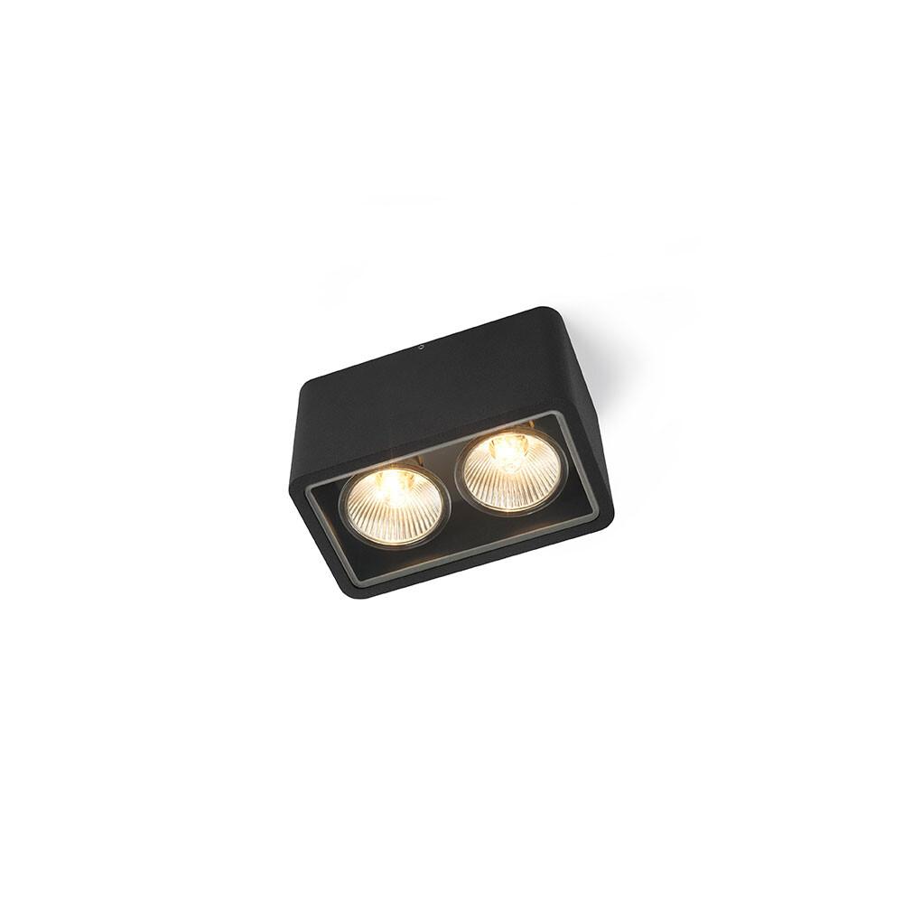 Code 2 Out Loftlampe (IP55) Sort - Trizo21 thumbnail