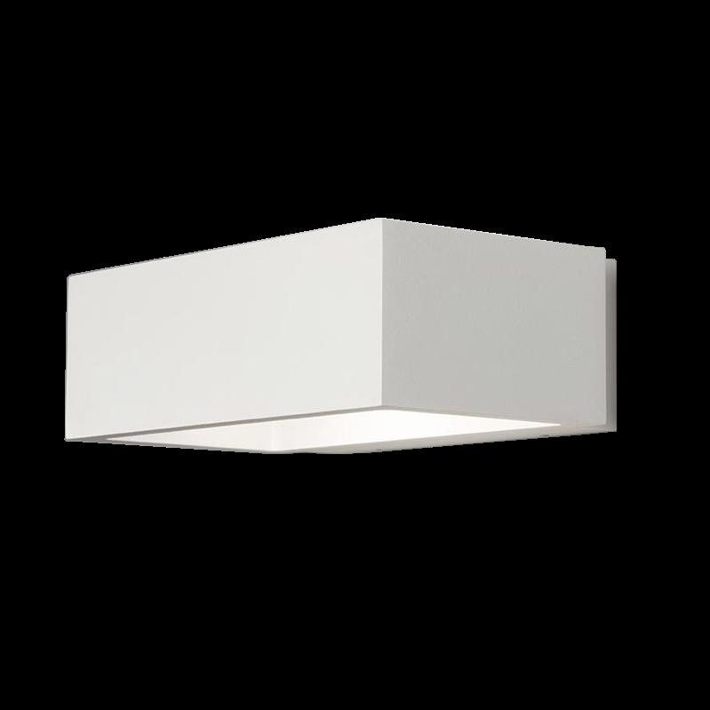 Brick LED 3000K Væglampe Hvid – LIGHT-POINT