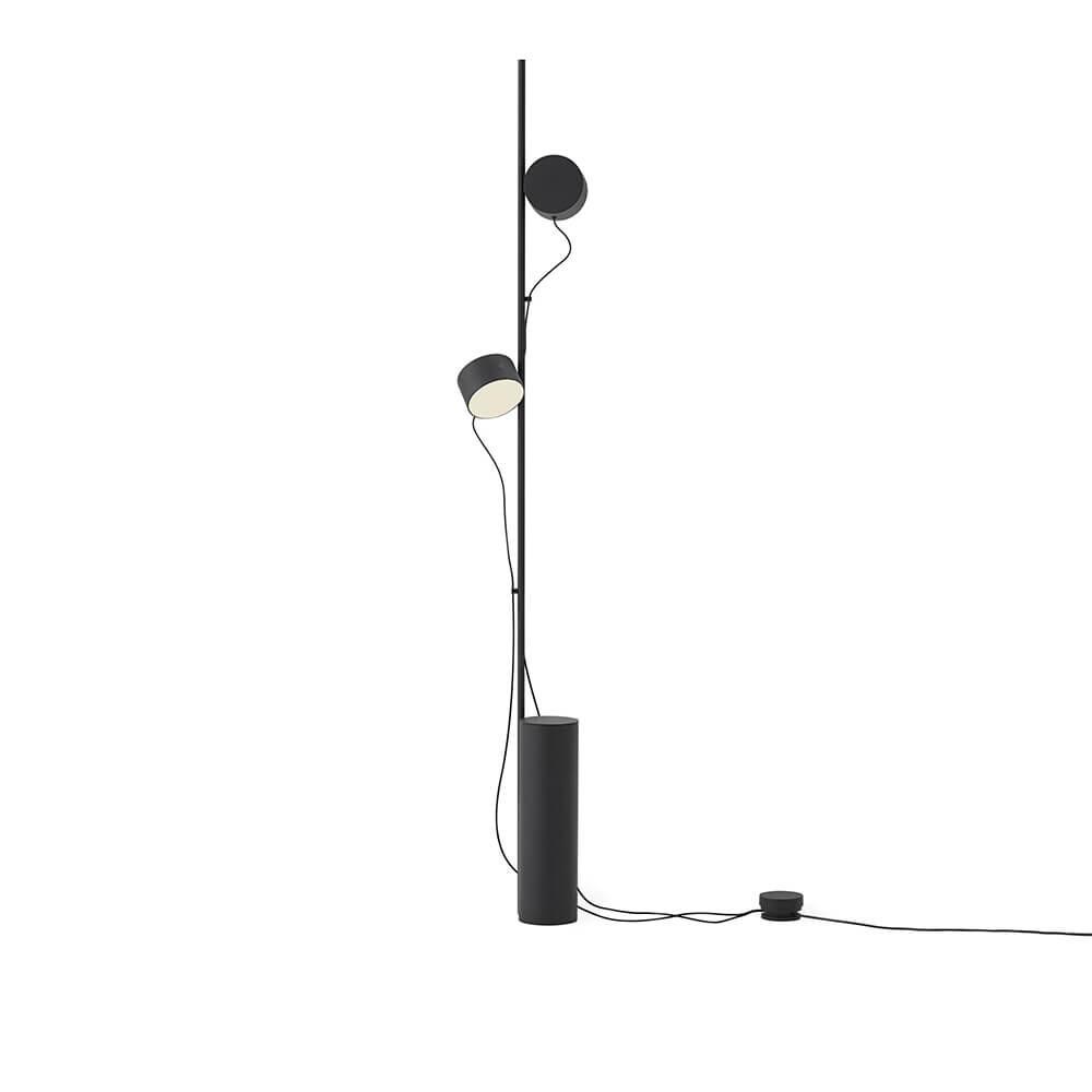 Image of Post Gulvlampe Black - Muuto (15456496)