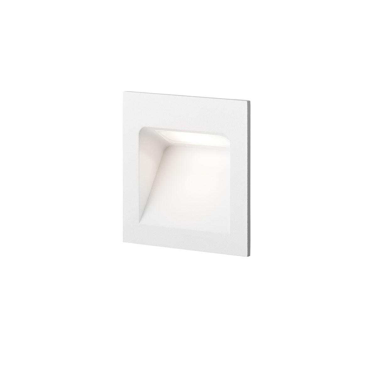 Deli 1 LED 3000K Væglampe Hvid – LIGHT-POINT