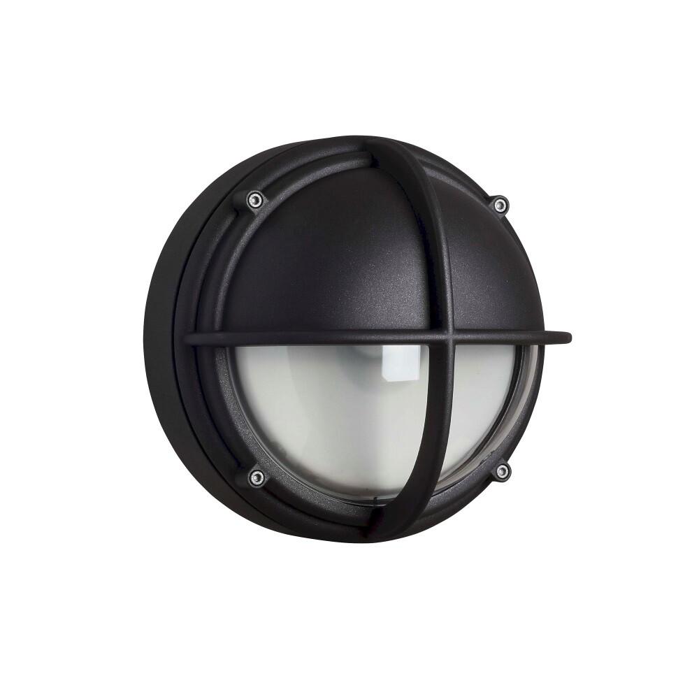 Skot Loftlampe LED Klar Halvafskærmet Grafit – Louis Poulsen
