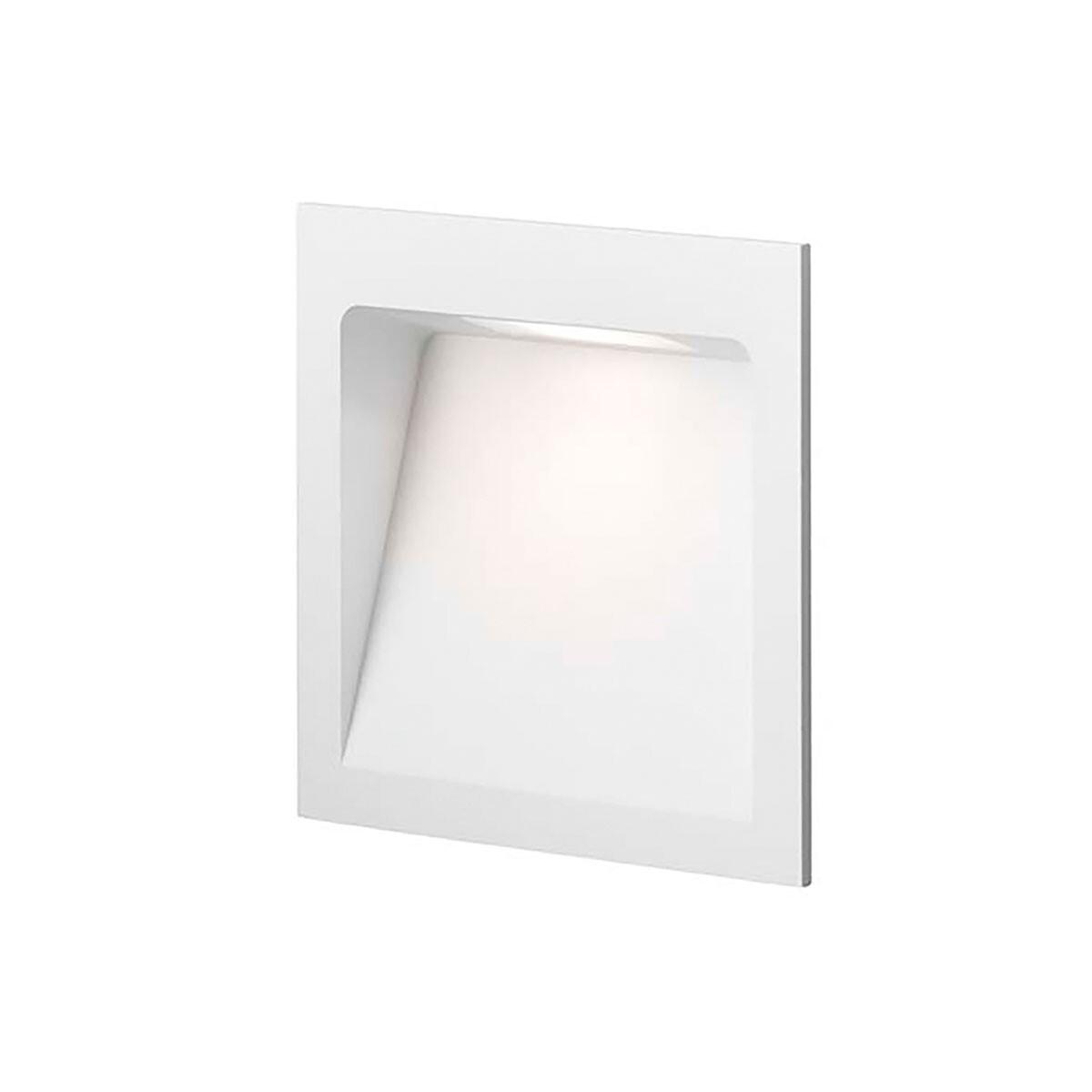 Deli 2 LED 3000K Væglampe Hvid – LIGHT-POINT