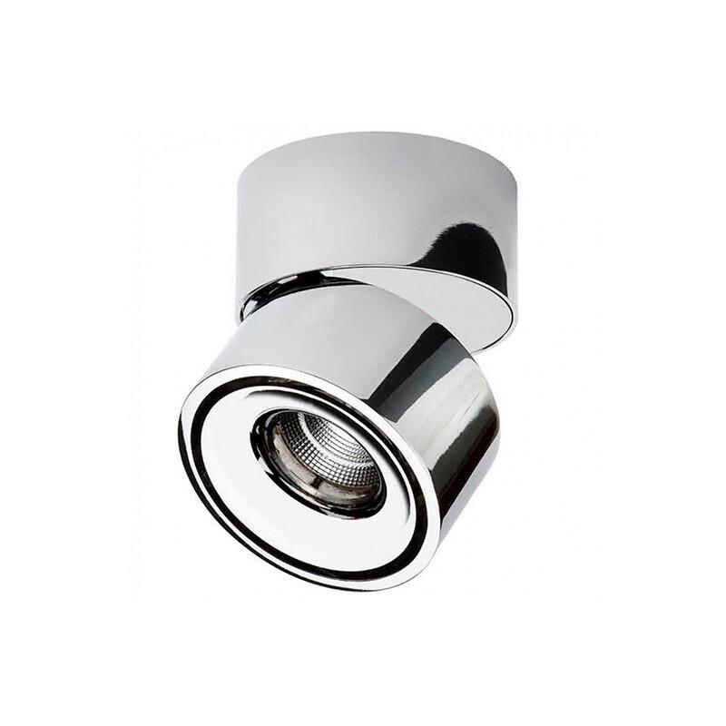 Easy W75 LED Påbygningsspot 7W Krom – ANTIDARK