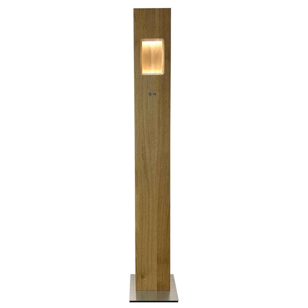 Pan LED Gulvlampe Oiled Oak – Herzblut