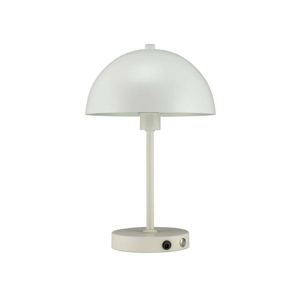 Stockholm Portable Bordlampe LED White – Dyberg Larsen