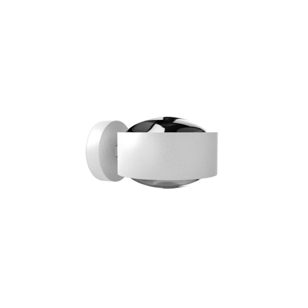 Puk Maxx Væglampe LED Lens + Lens Hvid – Top Light