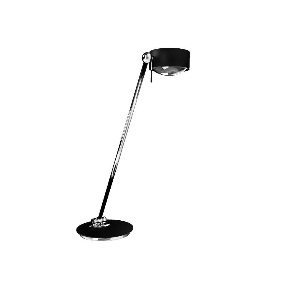 Puk Maxx Single LED Bordlampe Sort – Top Light
