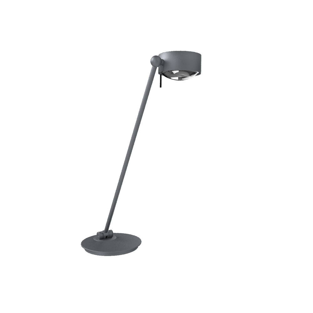 Puk Maxx Single LED Bordlampe Mat Krom – Top Light