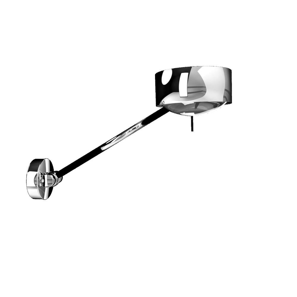 Puk Maxx Wing Single LED Væglampe Krom – Top Light