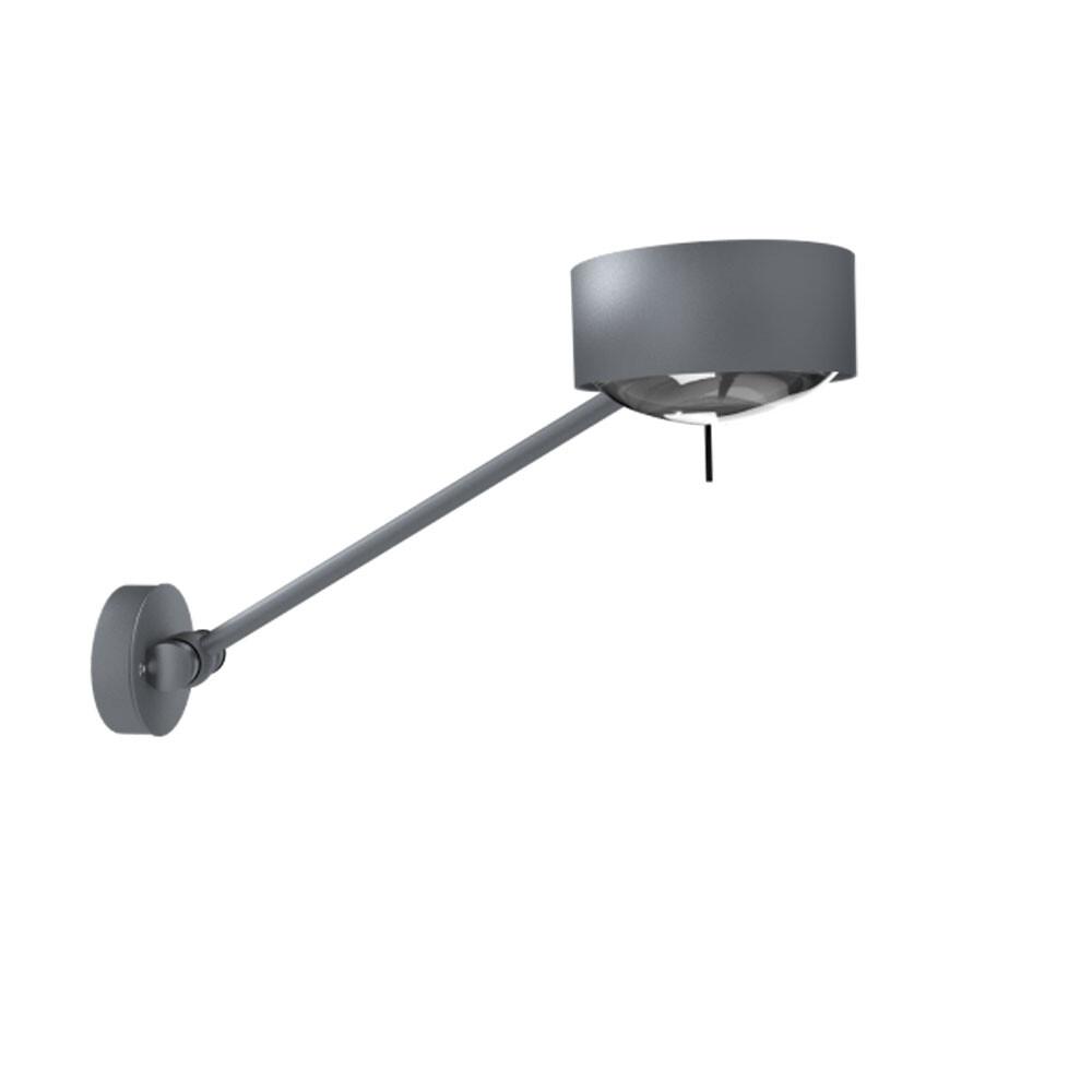 Puk Maxx Wing Single LED Væglampe Mat Krom – Top Light