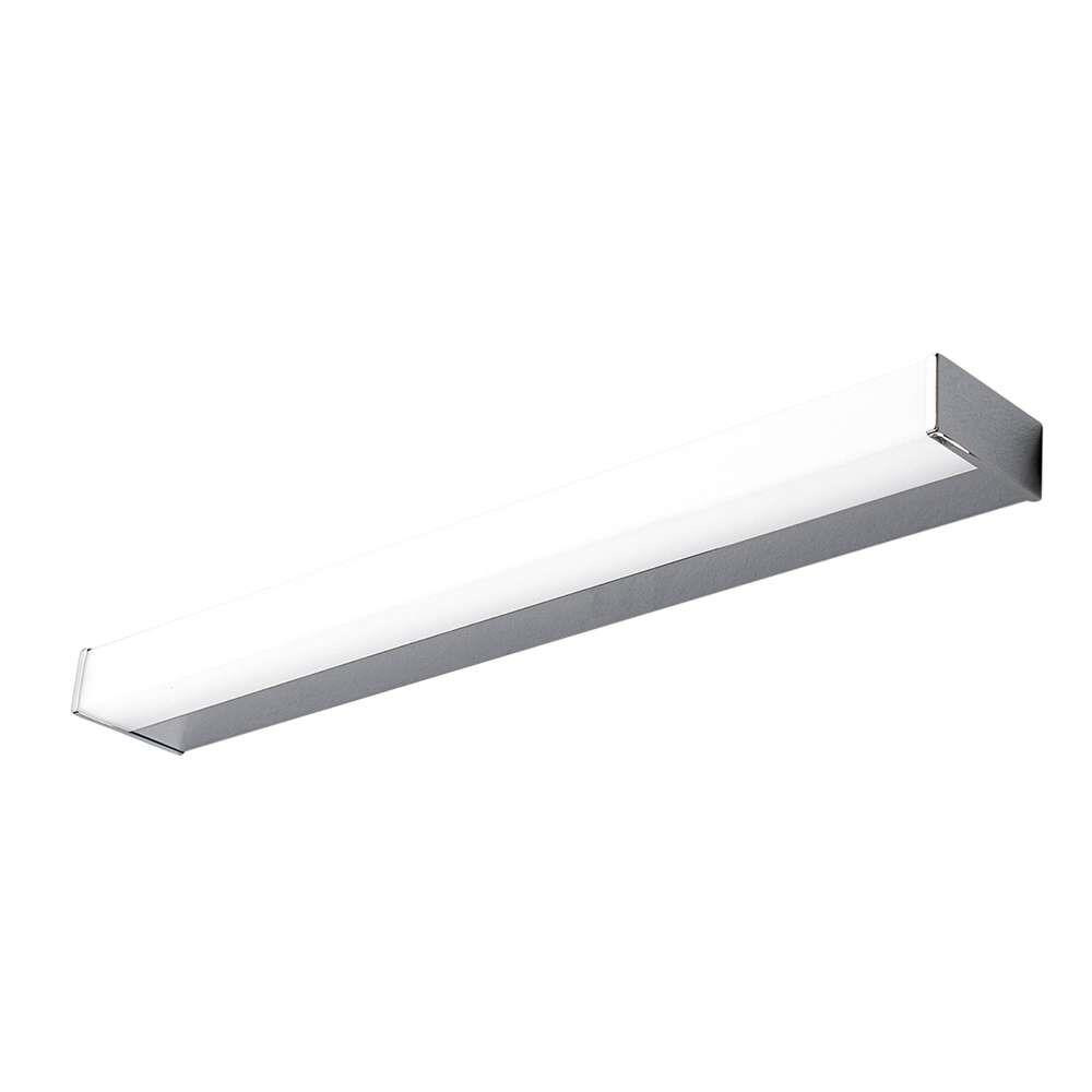 Philippa 58 LED Square Væglampe Chrome – Lindby