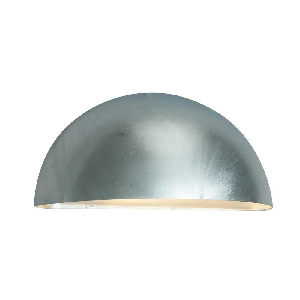 Paris LED Udendørs Væglampe Stor Galvaniseret – Norlys