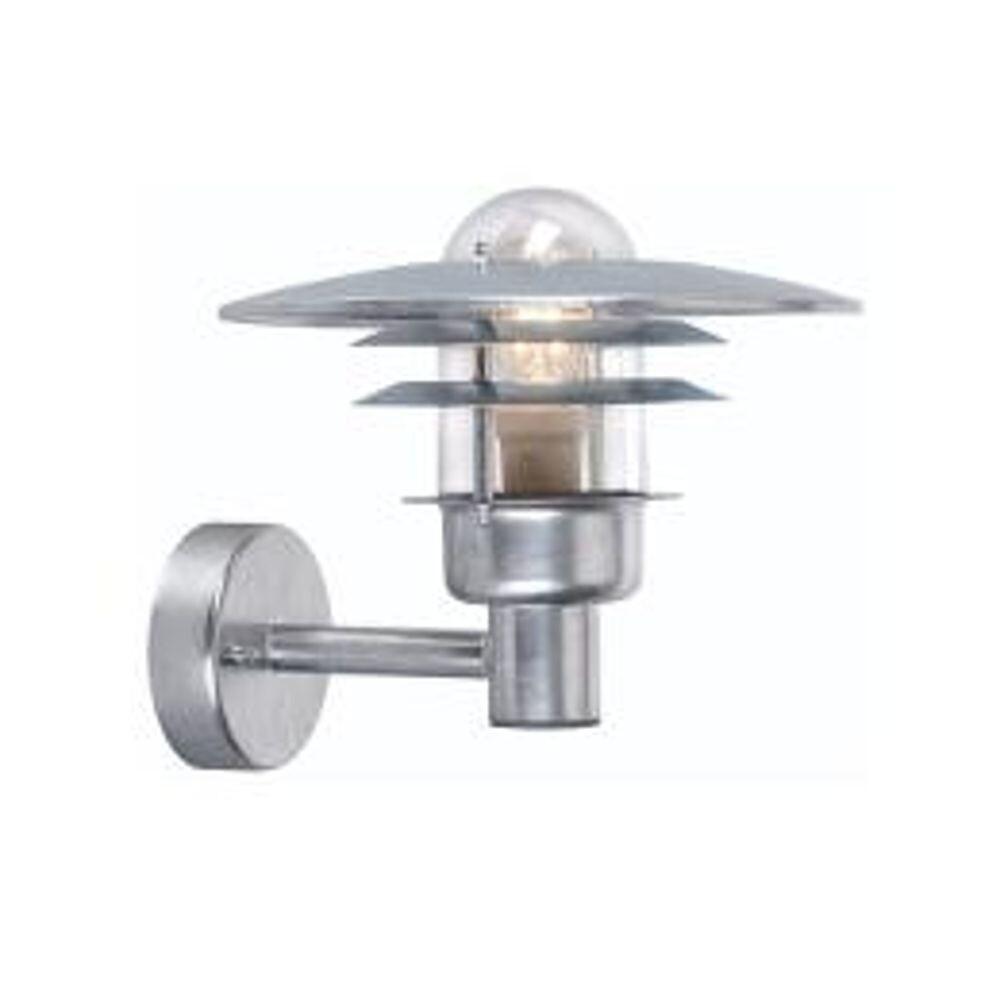 Sandvik LED Down Udendørs Væglampe Alu – Norlys