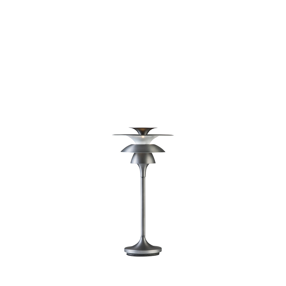 Picasso Bordlampe H355 Oxidgrå LED – Belid