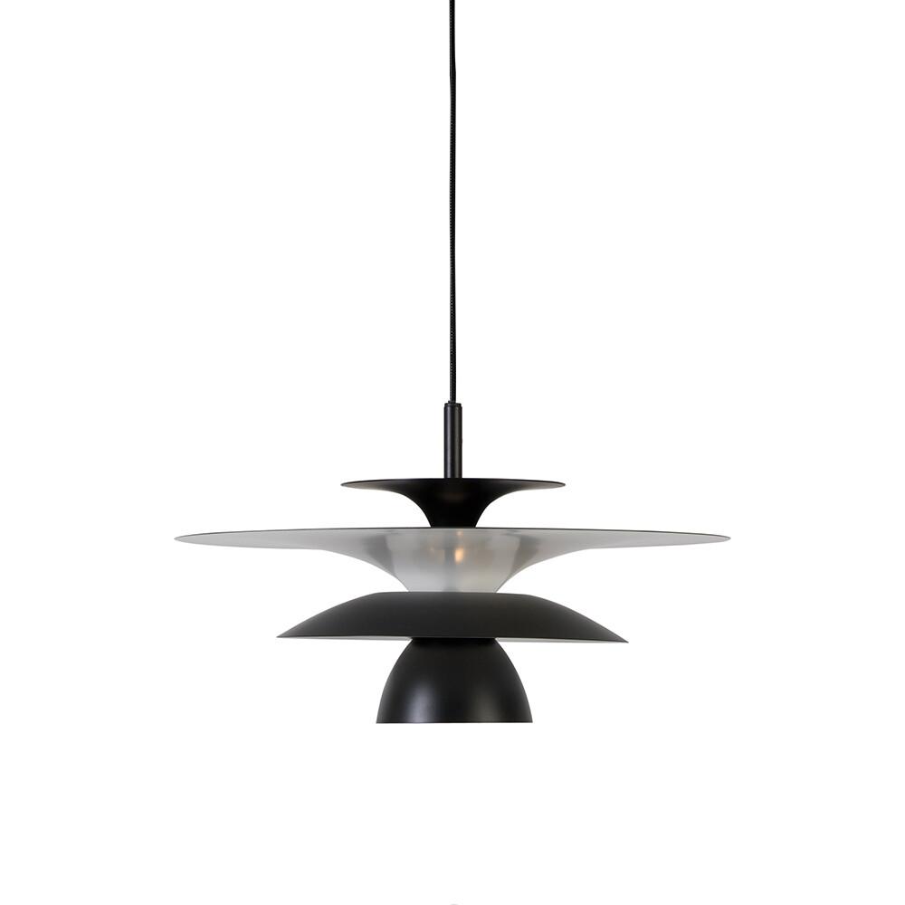 Picasso Pendel Mat Sort Ø380 LED – Belid
