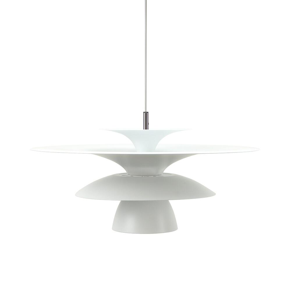 Picasso Pendel Mat Hvid Ø500 LED – Belid