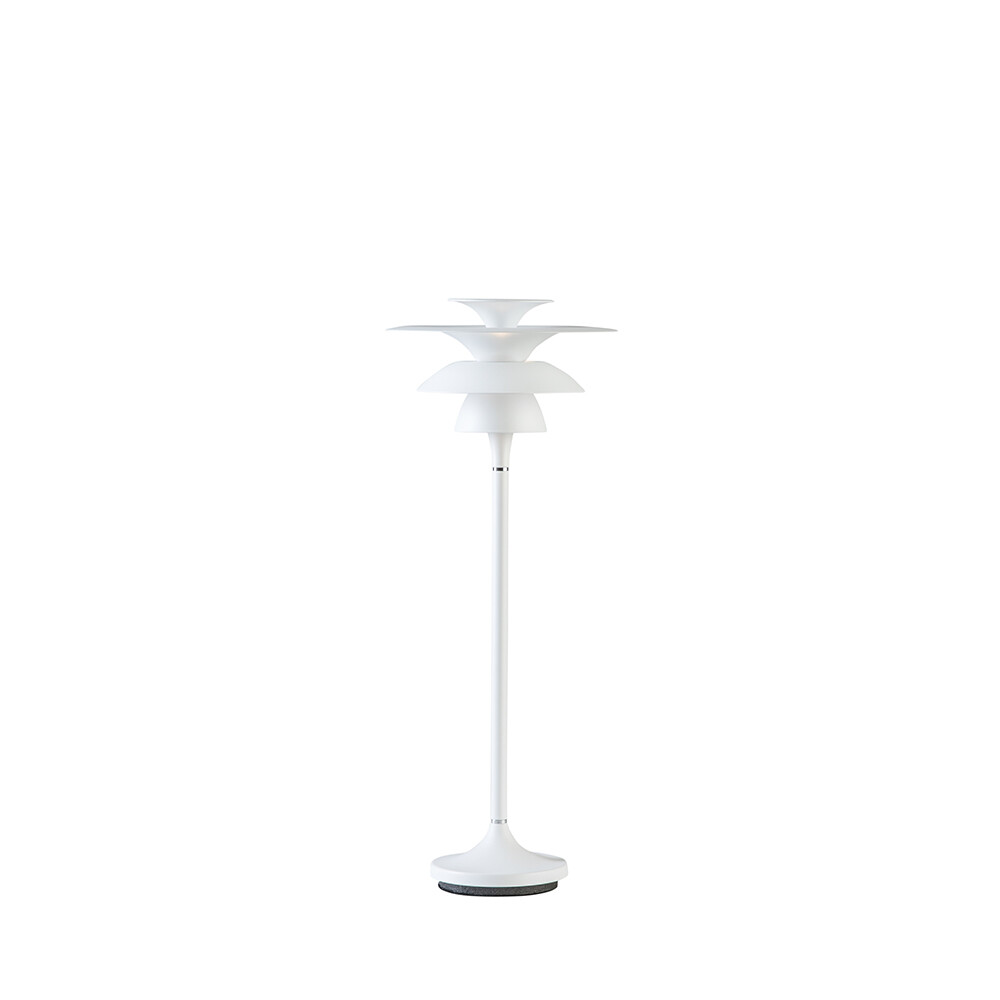 Picasso Bordlampe H465 Mat Hvid LED – Belid