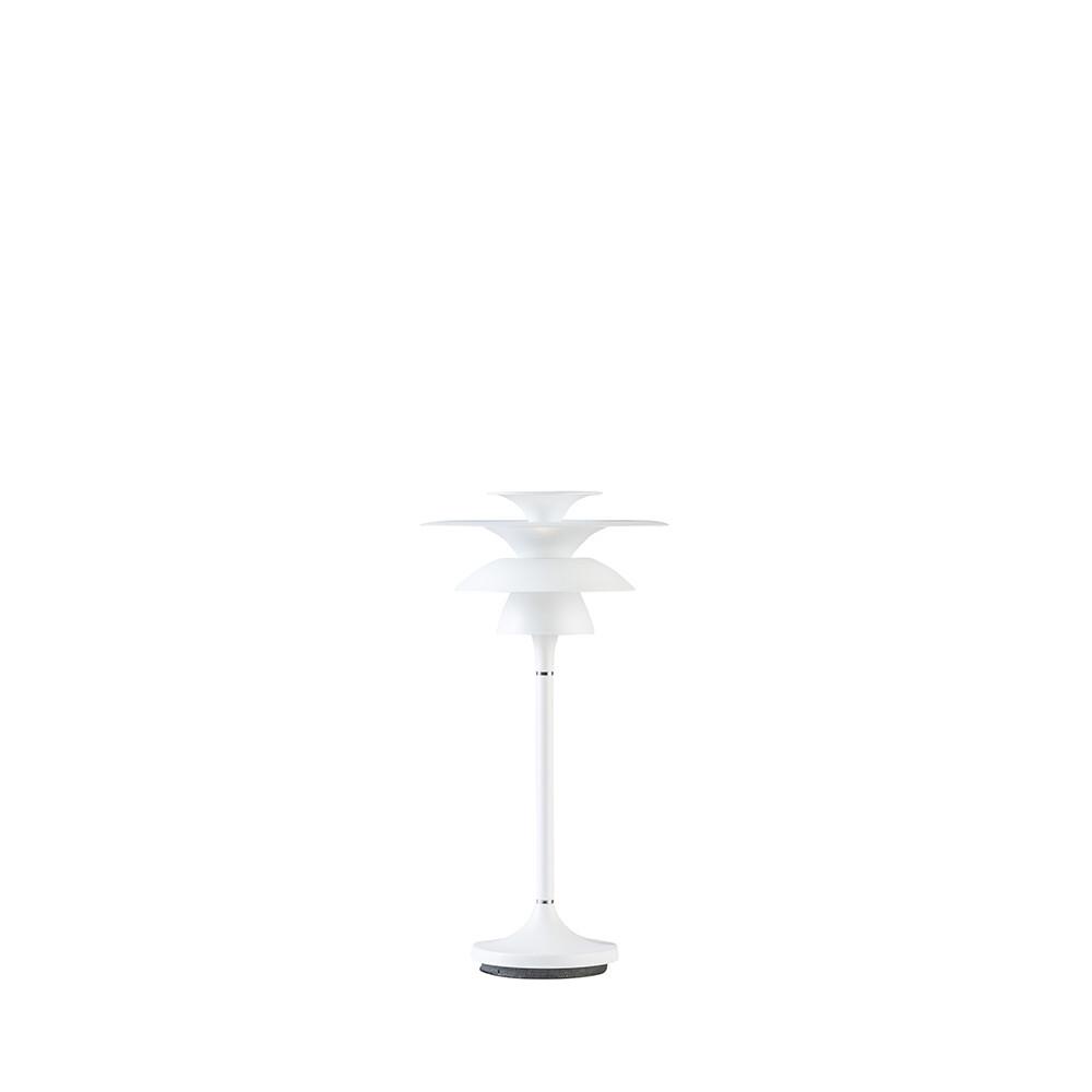 Picasso Bordlampe H355 Mat Hvid LED – Belid