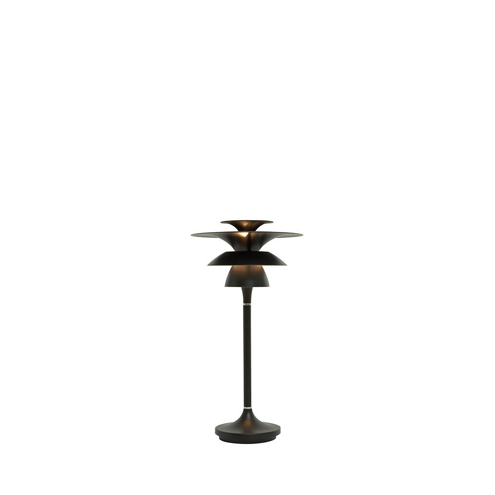 Picasso Bordlampe H355 Mat Sort LED – Belid